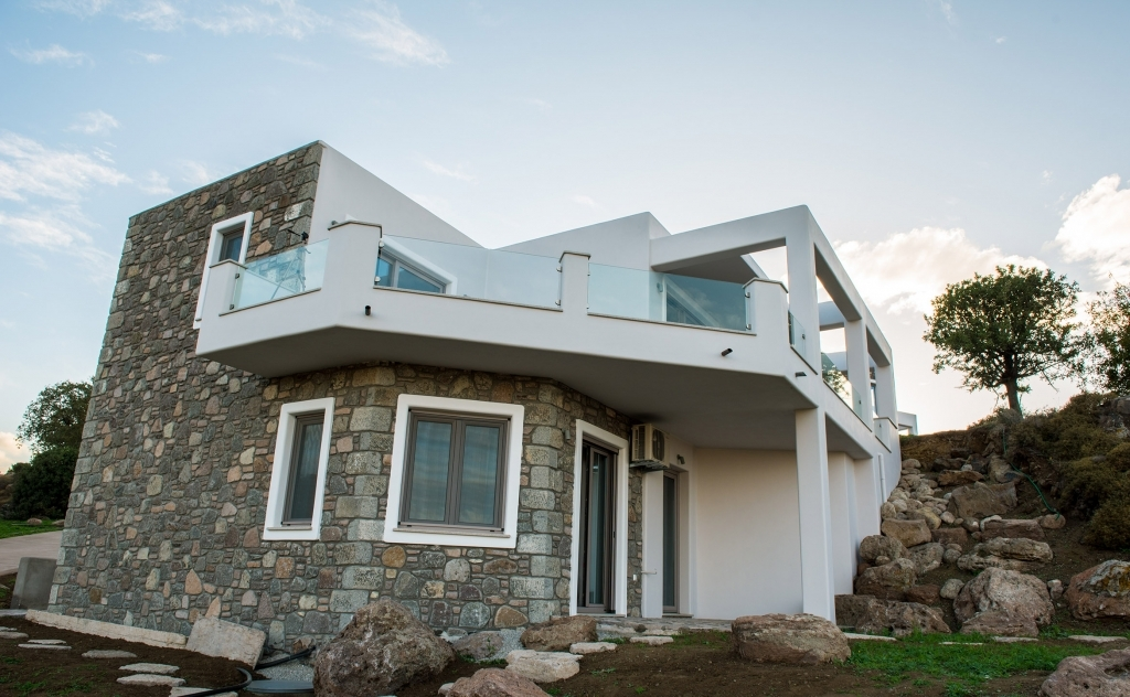 Premium house rear