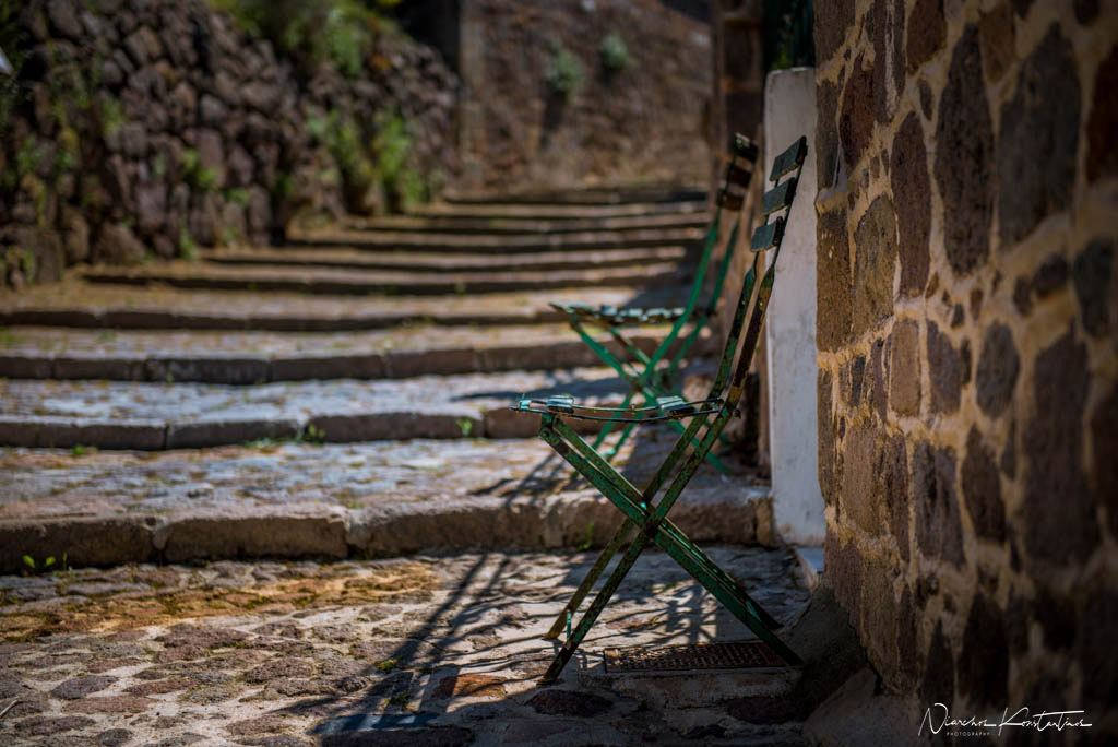 alleys of Molyvos stairs